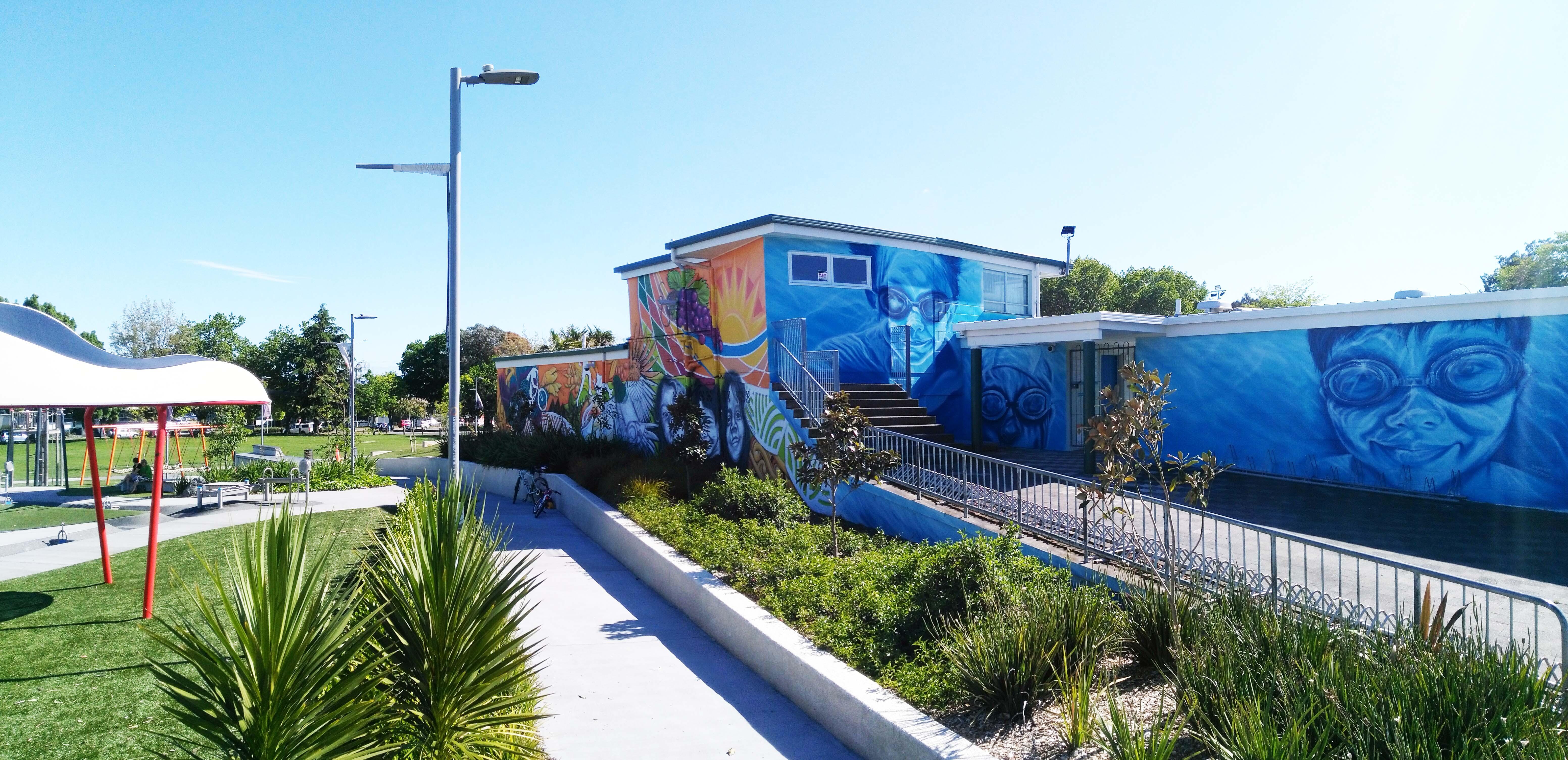 panorama mural