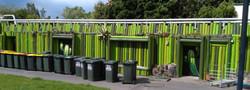 green log wall 1