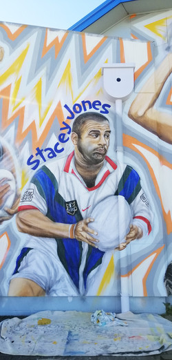 stacey jones finished