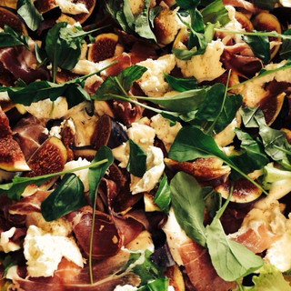 Fig, Parma Ham & Mozzarella Salad
