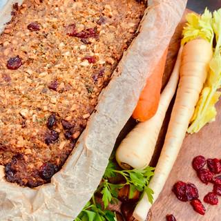 Nut & Vegetable Loaf (Vegan)