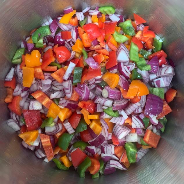 Vegan Chilli Prep