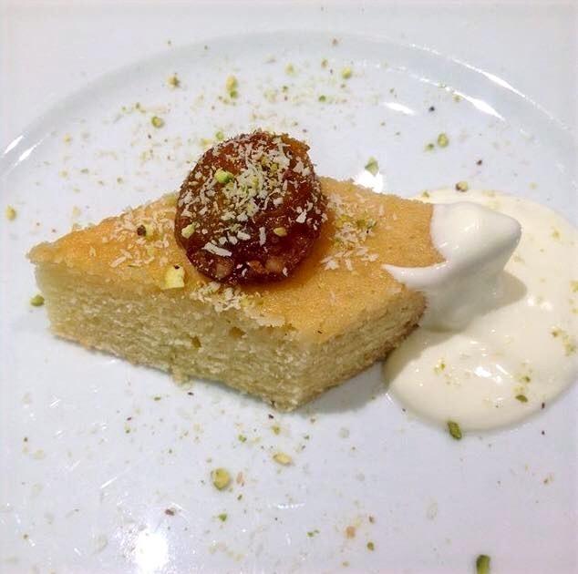 Turkish Lemon & Almond Cake