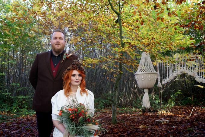 Macrame Wedding Prop
