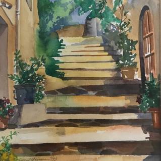 Stairway in Spain