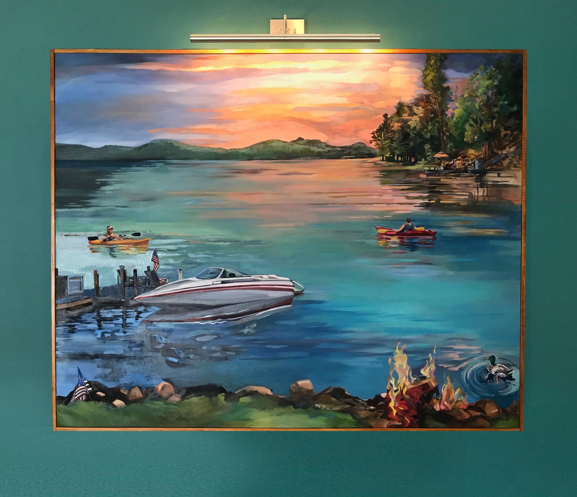 The Great Sacandaga Lake