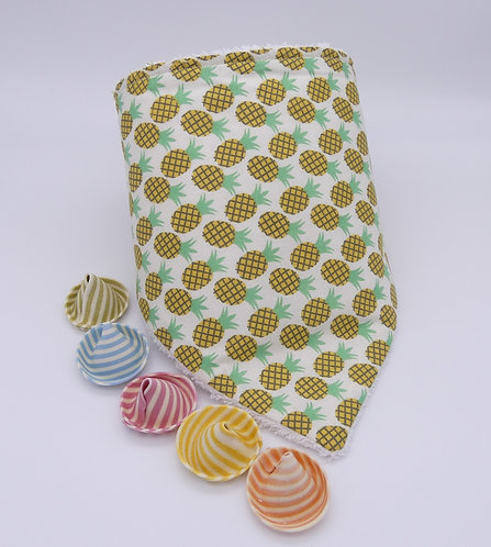 Bavoir bandana - Ananas