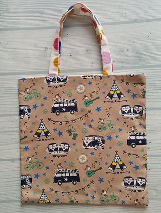 "Tote Bag Enfant ""Camping"""