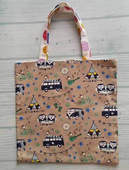 Tote Bag Enfant - Camping