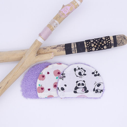 Coton lavable - Panda