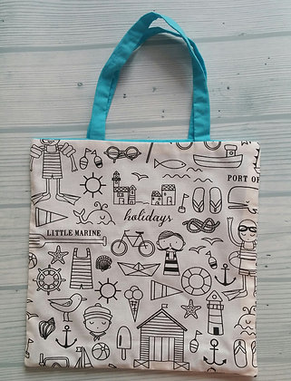 """Tote Bag Enfant """"Petit Marin"""""""