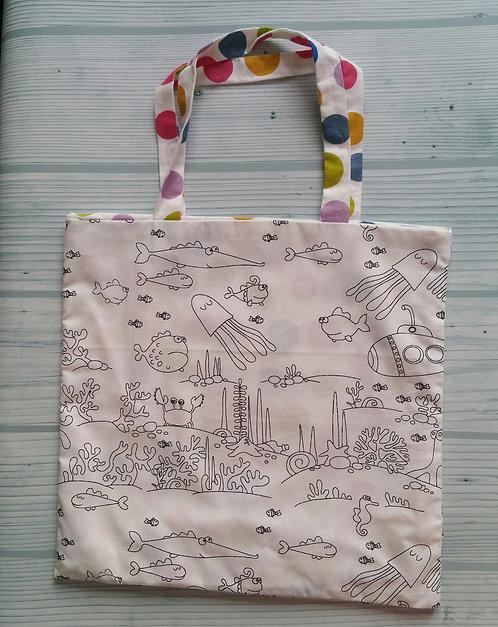 Tote Bag Enfant - Sous l'Océan