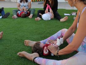 Dia da Criança - Yoga para Bebés