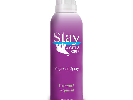 Game-changing Grip Spray for the Power Yoga Industry