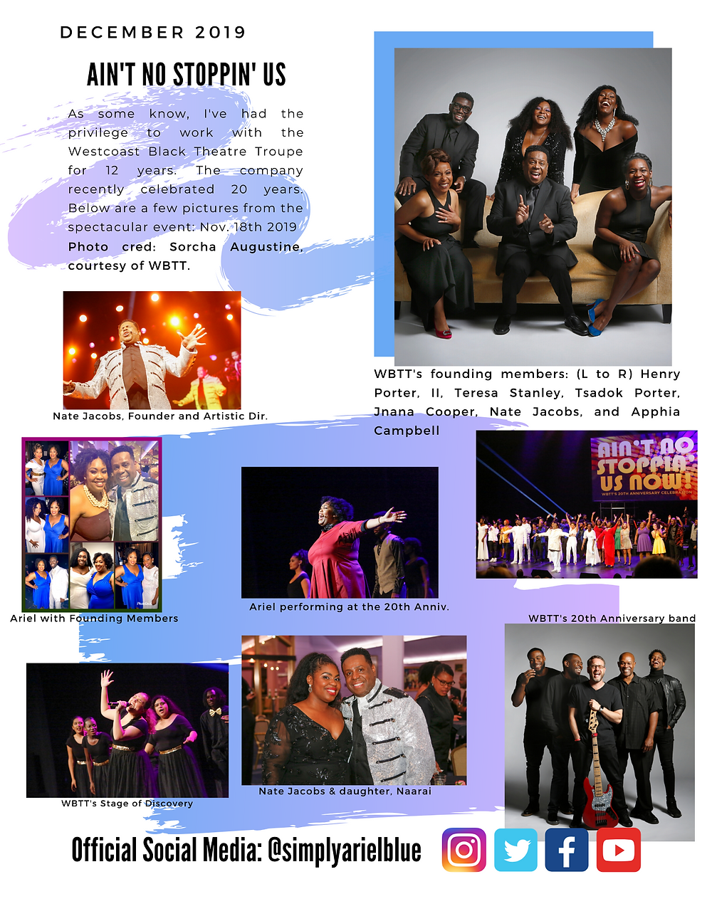 The Blue Print | December 2019 | Page 3 | Ain't No Stoppin' Us, WBTT Anniversary