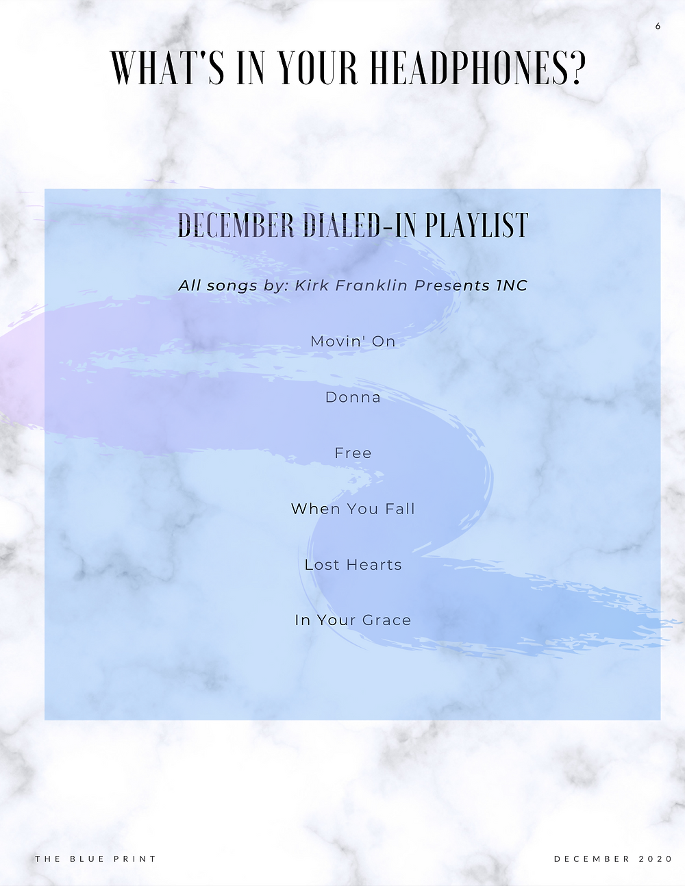 December Dialed-In Playlist
