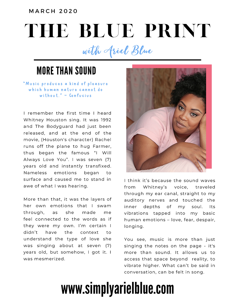 The Blue Print | March 2020 | Page 1 | Magical Music