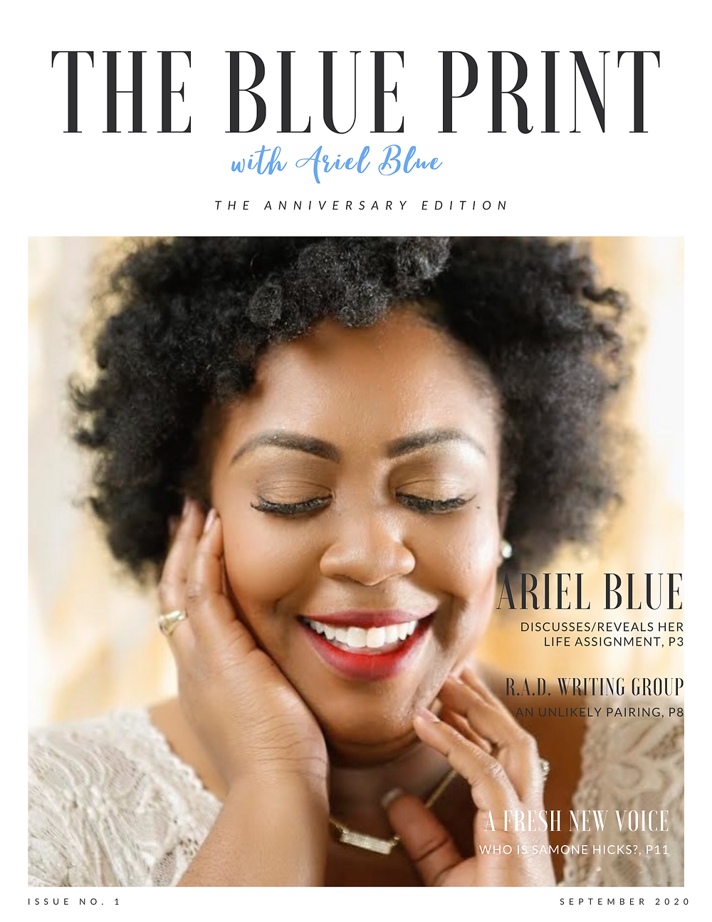 The Blue Print | September 2020 | Cover Page