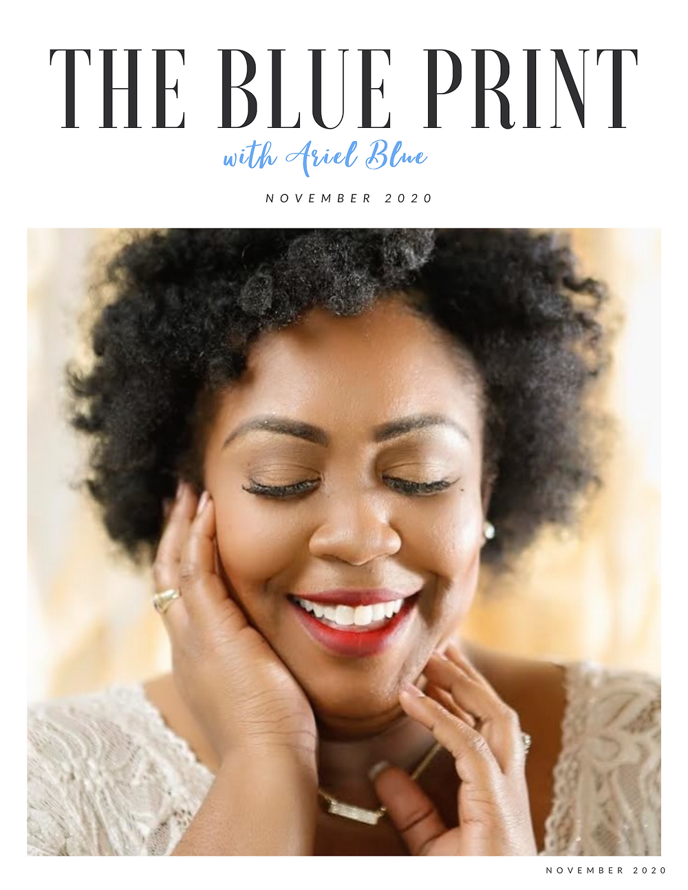 November Blue Print cover