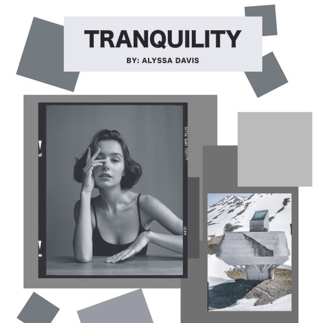 Tranquility Mood/Inspiration Board