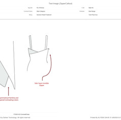 Callout Sheet: Slip Dress