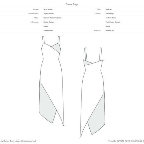 Cover Page: Slip Dress