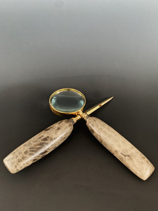 Magnifing Glass & Letter Opener