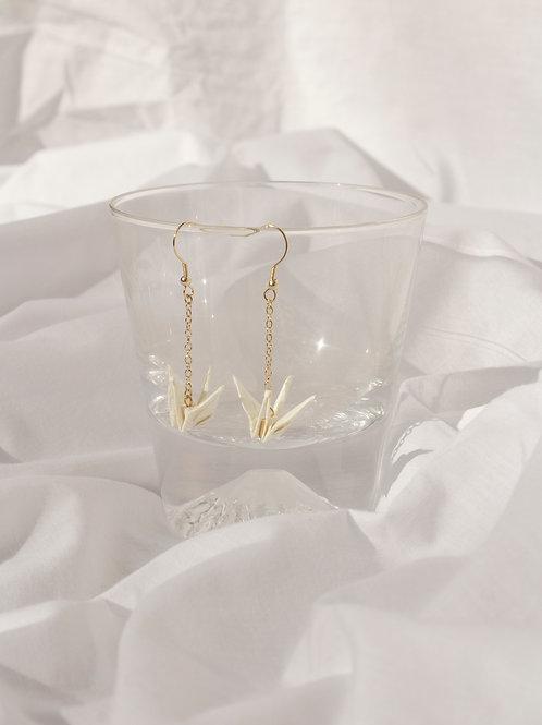 Sanpo Crane Earrings