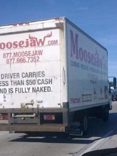 Naked Driver?
