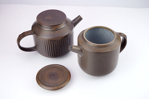 Straight-grain & Smooth-surface Double-duty Pot
