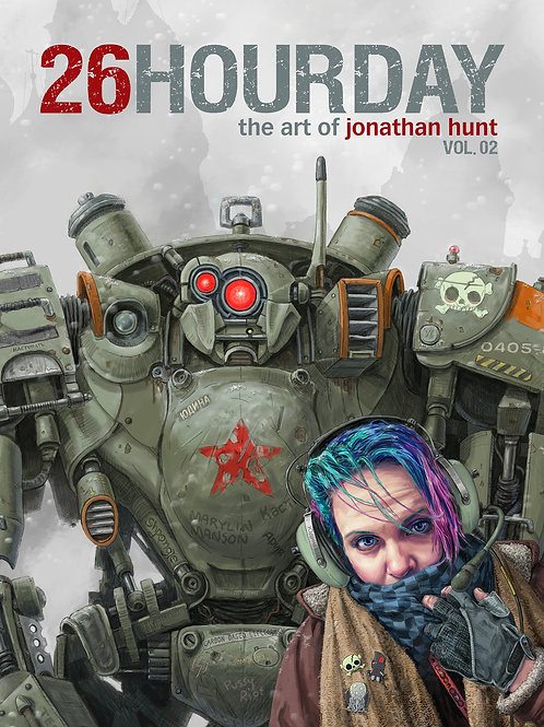 26 hour day: the art of jonathan hunt vol. 02