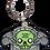 Thumbnail: tempus fugit   creepy eepz™ acrylic keyring