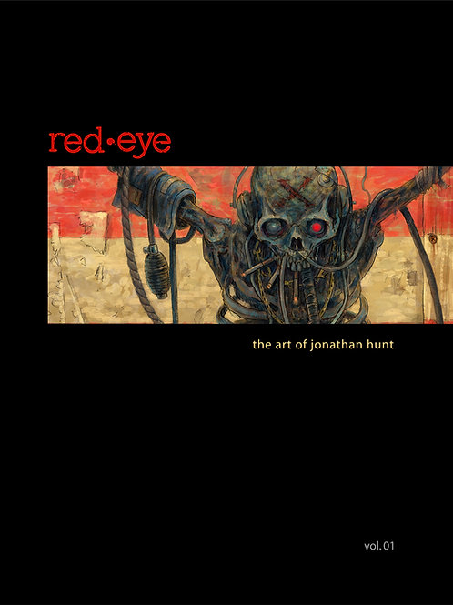 red•eye: the art of jonathan hunt vol. 01