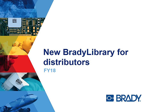 BradyLibrary_for_distributors_Training_Presentation