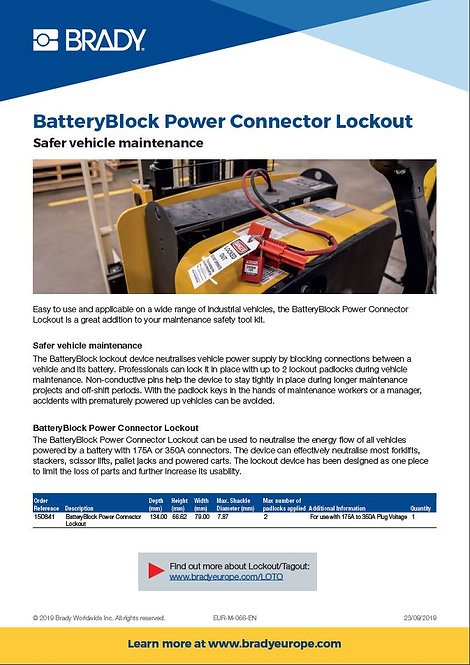 BatteryBlock_Power_Connector_Lockout