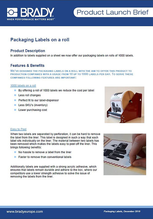 Packaging_Labels_ProductLaunchBrief