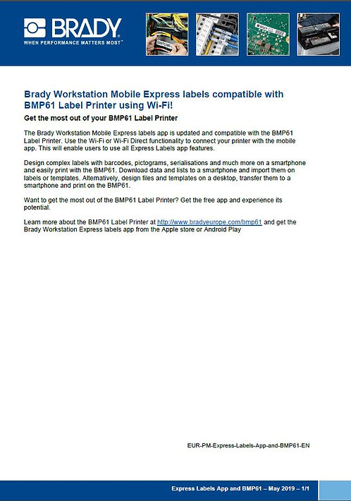 Express_Label_App_and_BMP61_ProductMemo