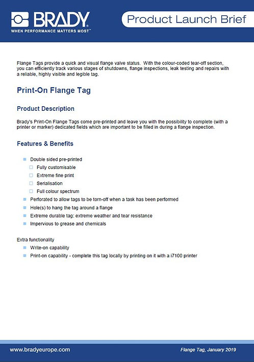 Flange_Tag_ProductLaunchBrief