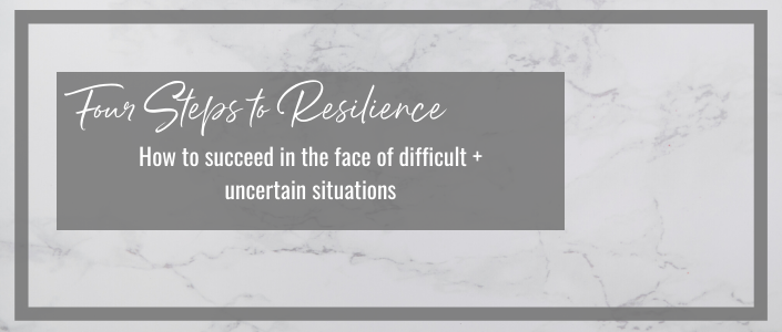 how to succeed in the face of difficult + uncertain situations