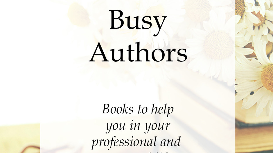 Top Books for Busy Authors