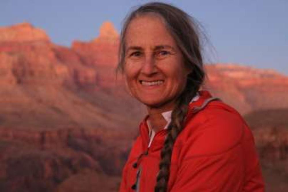 Thea Gavin at Grand Canyon by Nina Rehfeld