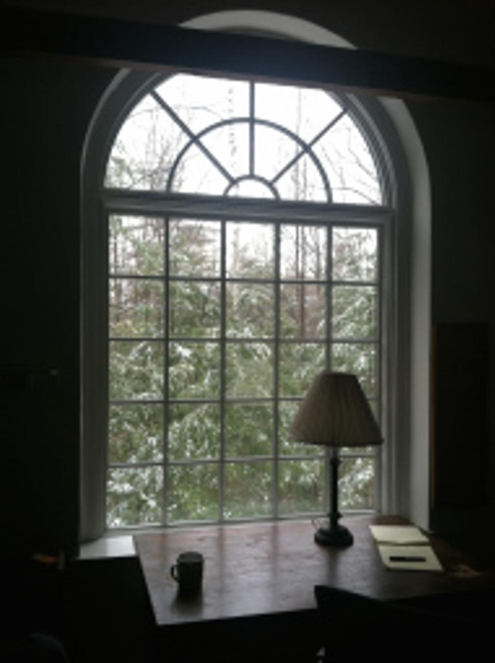 macdowell desk view