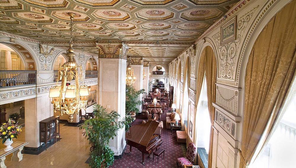 Brown Hotel Lobby