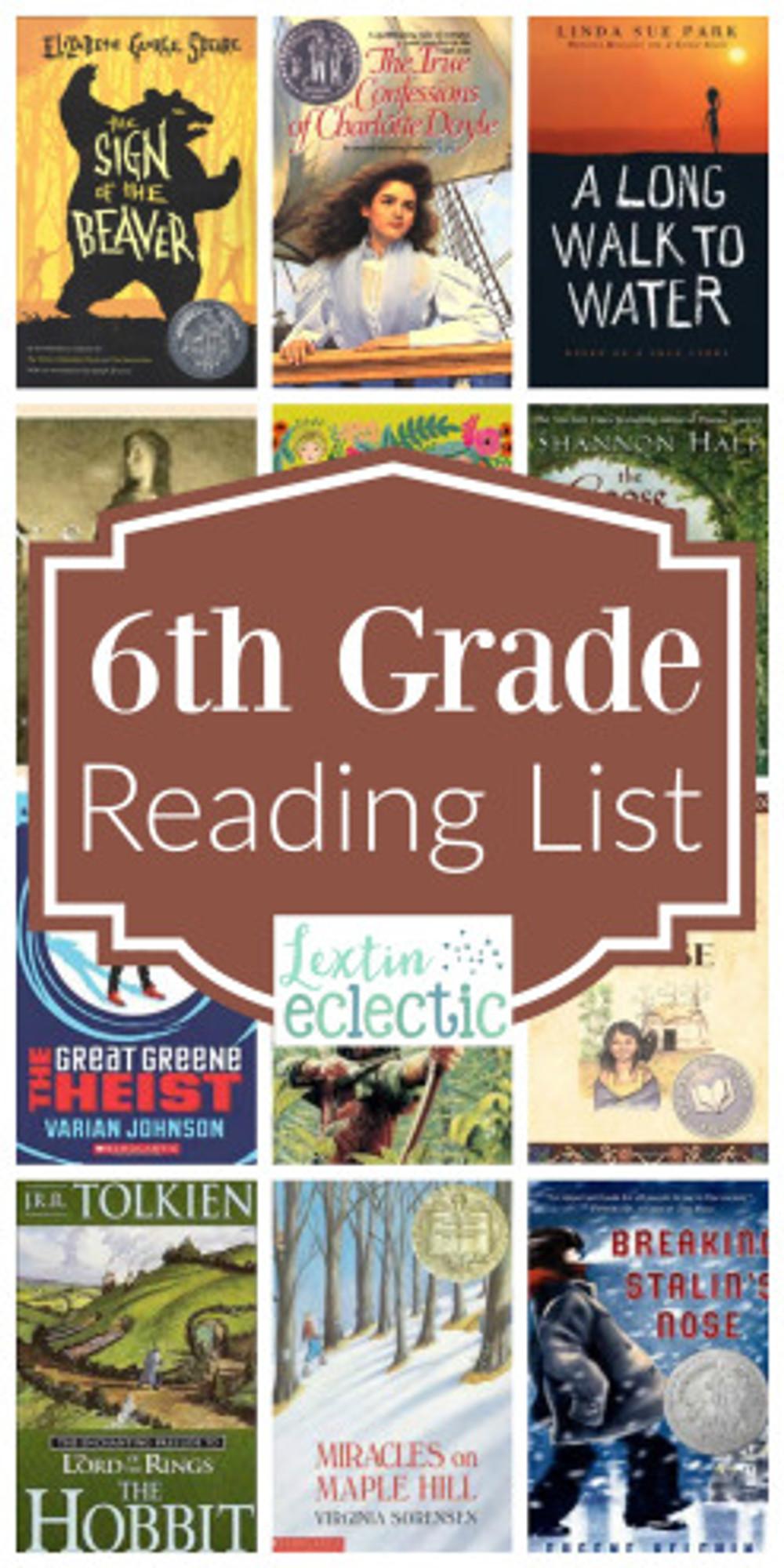 6th-Grade-Reading-List
