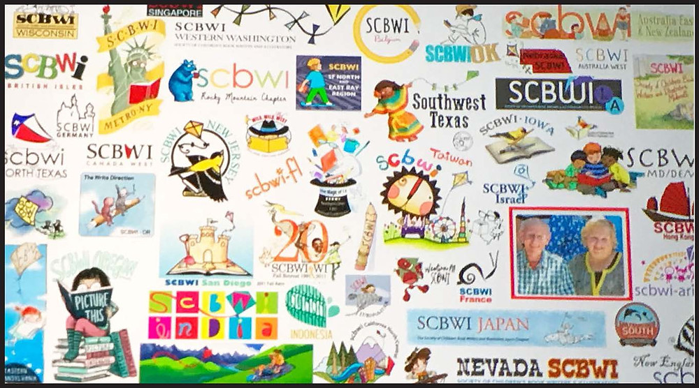 SCBWI collage
