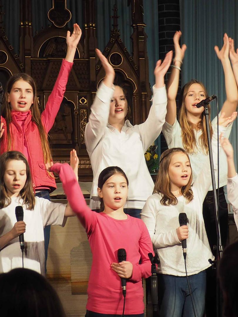 Auftritt in derGospelkirche 2016