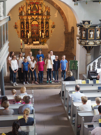 Auftritt in der St-Vitus-Kirche 2016