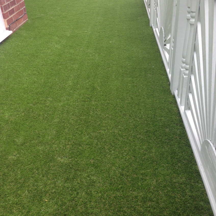 Artificial grass decking Newcastle