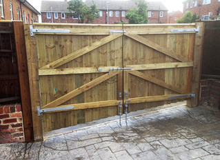 More stunning driveway gates by Newcastle Pro Fencing