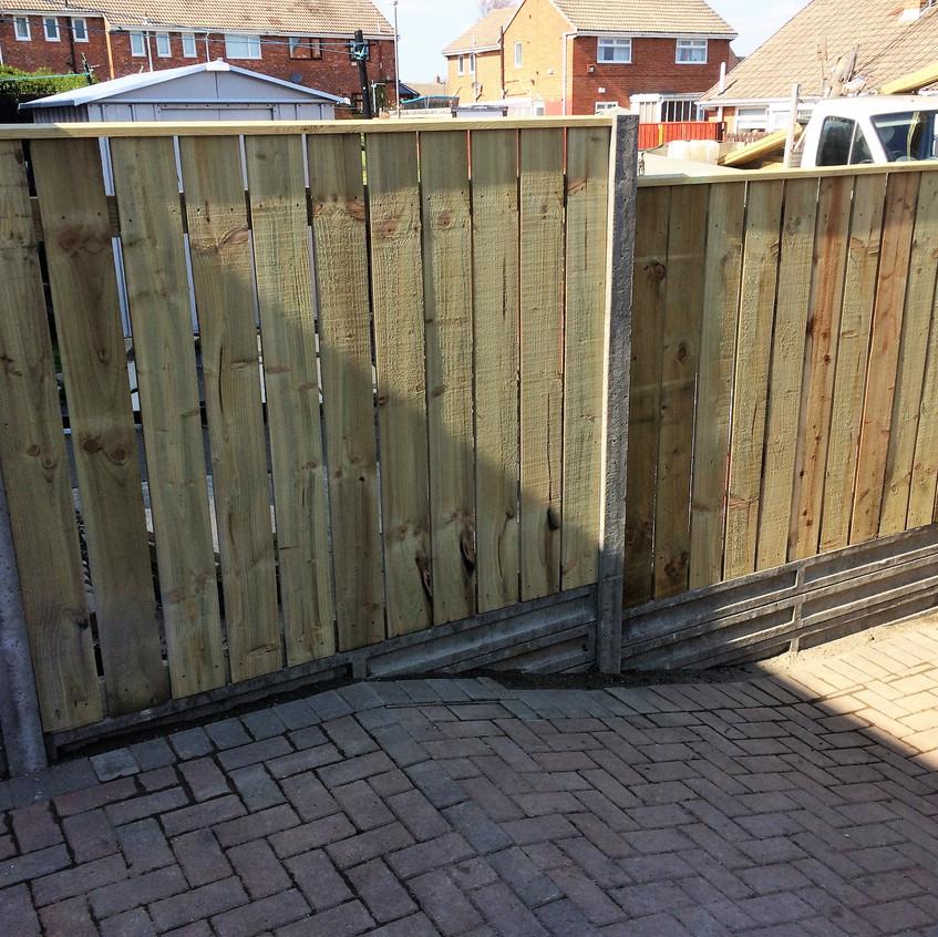 Garden Fencing Gateshead